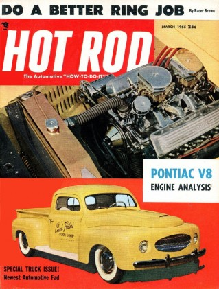 HOT ROD 1955 MAR - AK MILLER, STRATO STREAK V8